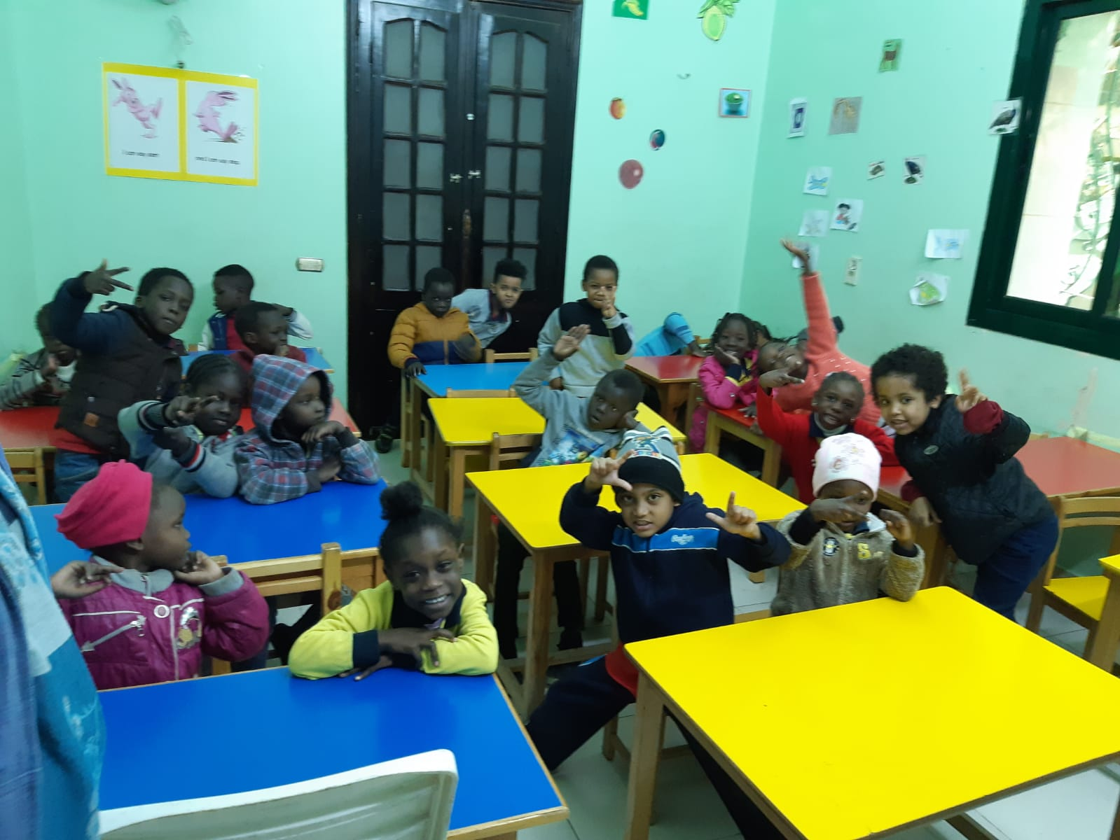 school for refugees in Egypt, excellence in expat education