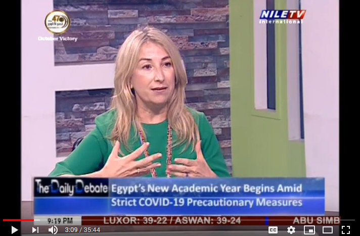 Senida Kiehl featured on Nile TV International